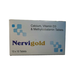 Calcium, Vitamin D3 With Methylcobalamin Tablets
