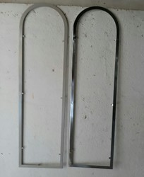 Steel Almirah Paip Farem