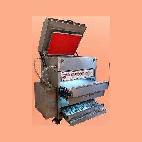 Water Wash Letter Press Plate Making Machine