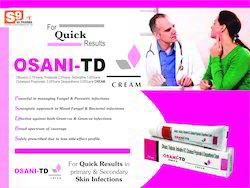 Ofloxacin 0.75% W/w , Ornidazol 2.0% W/w , Terbinafine Hcl 1
