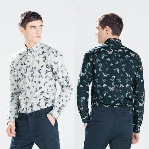 Cotton Printed Men Party Wear Shirts 7b470d41b100