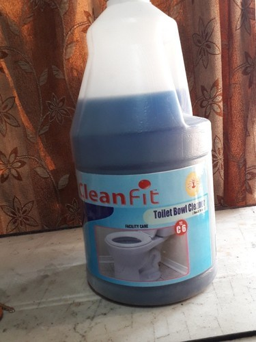 BLUE Clean fit Toilet Bowl Cleaner C_6, Pack Size: 5 LITRES