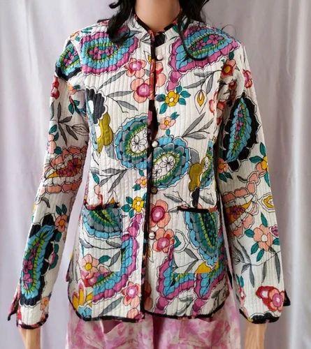 15cdbe3d61 Winter Cotton Kantha Jacket, सूती जैकेट - Jaipuronline Shop ...
