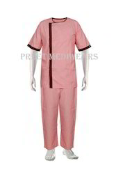 Terry Cot Patient Gown With Lower
