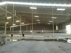 Steel Industrial Shed Fabrication Service