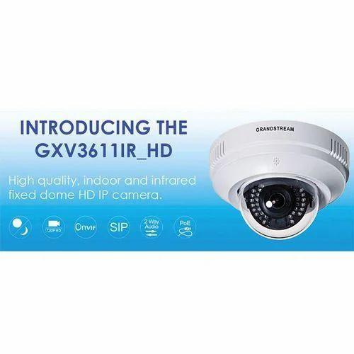 Grandstream GXV3611IR HD Motion Sensors IP Cameras - Vee Pee