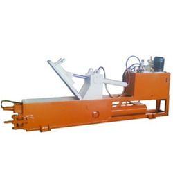 Manual Front Ejection Scrap Baling Machine