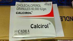 Cadila Cholecal Ciferol Granules 60, 000 Iu/gm, 1 gm , Packaging Type: 100 Sachets
