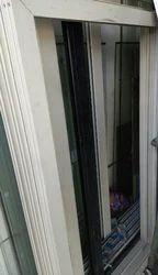 Aluminium White Window Frame