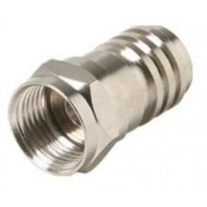 Ms-f Hex Crimp Connector Rg6/plenum