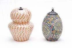Mosaic Glass Lamps