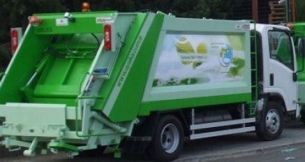 Manual Truck Mounted Garbage Compactor Capacity 14 Cu Bm