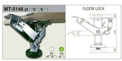 LOGIFORM Standard Floor Locks, Size: 4, 5, 6