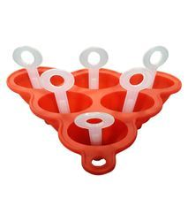 Silicone Kulfi Mould with Six PP Sticks