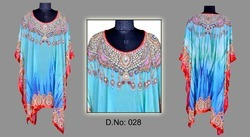 Ladies Crepe Silk Kaftan