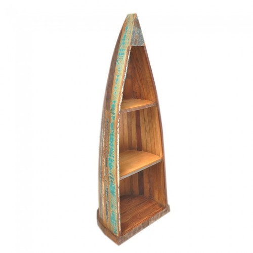 Wooden Boat Bookshelf At Rs 13750 Piece
