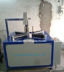 Galvanize Wire Wrapping Machine