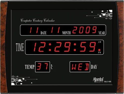 Clock Ajanta Digital LED Wall Clock Wholesale Distributor from Mumbai