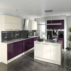 High Gloss Acrylic Kitchen