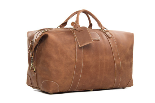 f9eb07fc9e10 Leather Travel Bag at Rs 2000  piece