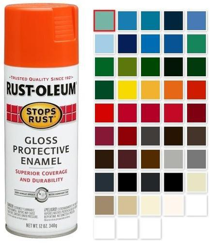Rust Oleum Stops Rust Multi Purpose Gloss Enamel Spray Paint