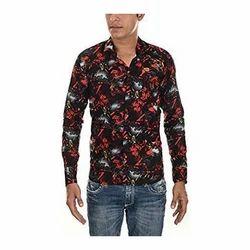 Men's Cotton Designer Multicolor Shirt