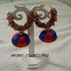 Party Women Silk Thread Earring