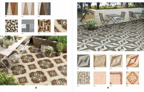 Black Digital Floor Tiles,  Thickness: 5-10 mm