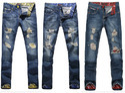 West Hill Retro Damage Jeans