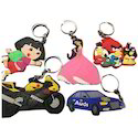 Soft PVC Rubber Keychain