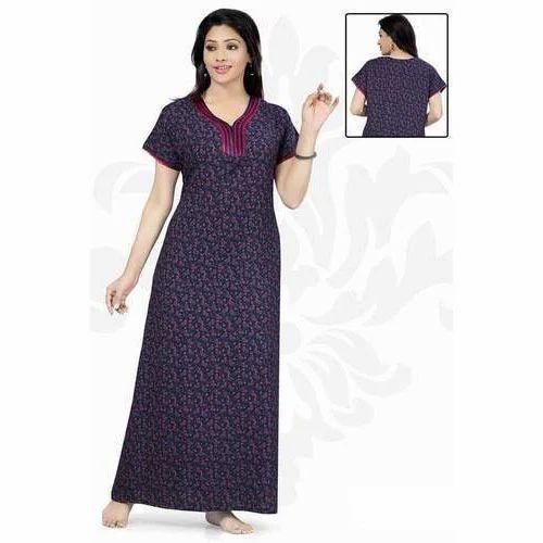 Ladies Designer Cotton Nighty 382ccc5f7