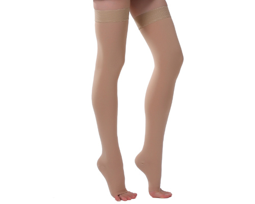 4fa31bb29 Cotton Compression Stockings Above Knee Varicose Veins