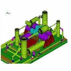 Compressor Foundation Design Service