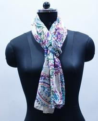 EGSC00015 Paisely Print Cotton Scarf