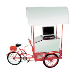 100 Ltr Push Cart Freezer