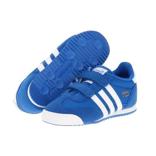 competitive price 3ead8 45afd Adidas Kids Blue Canvas Shoes