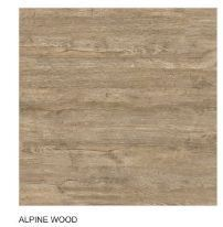 kajaria Porcelain Alpine Wood Double Charge Vitrified Tiles, Thickness: 10mm, Size: 12*18
