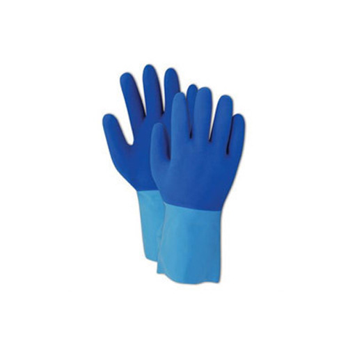 Latex,Cotton White Latex With Cotton Cut Register Gloves