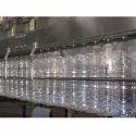 5000 L 50 Bottle/min Water Bottling Plants, Carbon Filtration