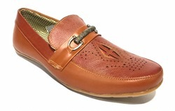Leather Brogue Shoe/Casual