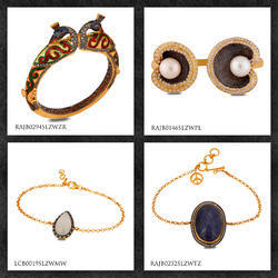 CZ Gemstone Bracelets & Bangles