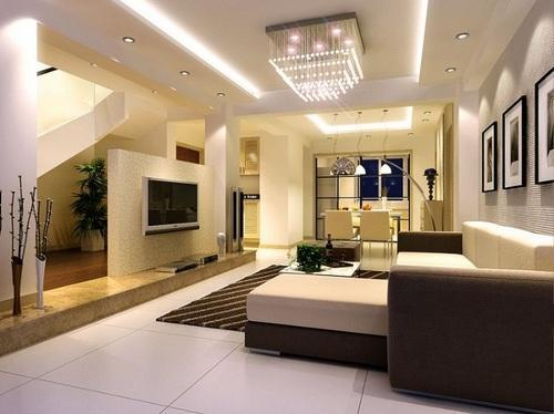 Living Room False Ceiling Design