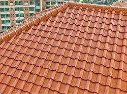 Decorative Ceramic Roofing Tile