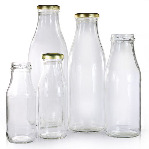 milk juice glass bottles capacity 200 1000 ml rs 15 unit s