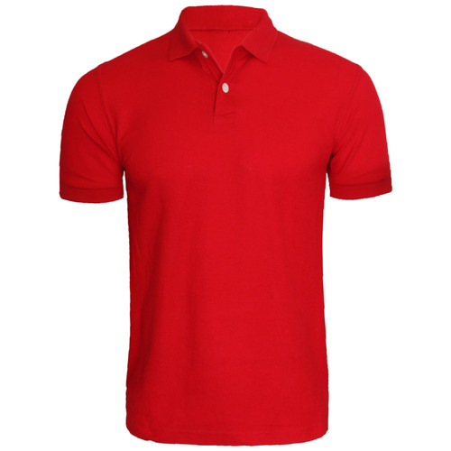 Mens T Shirt - Men Polo Red T Shirt Wholesale Trader from Panaji