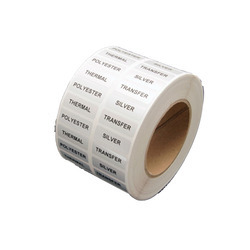 Silver Polyester Labels