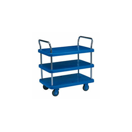 Three Shelves Platform Trolley
