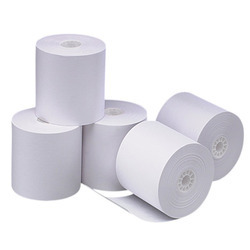 White Cash Register Paper Rolls