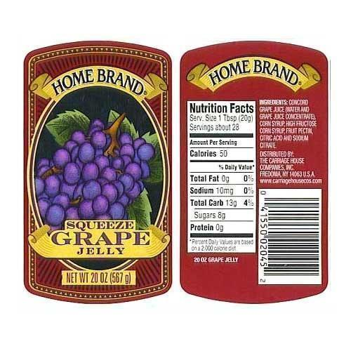 Food Product Labels, Printed Labels