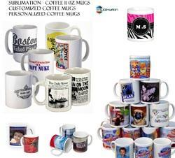 Sublimation White 11 Oz Coffee Mugs